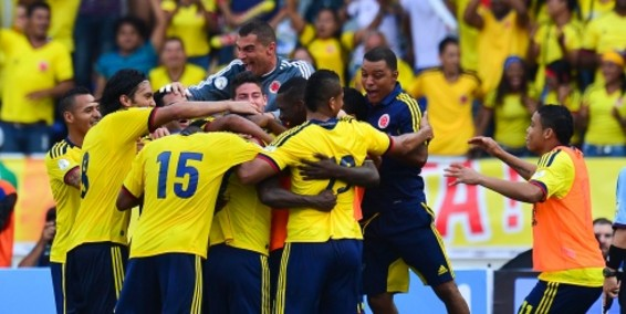 Colombia Mundial Brasil 2014