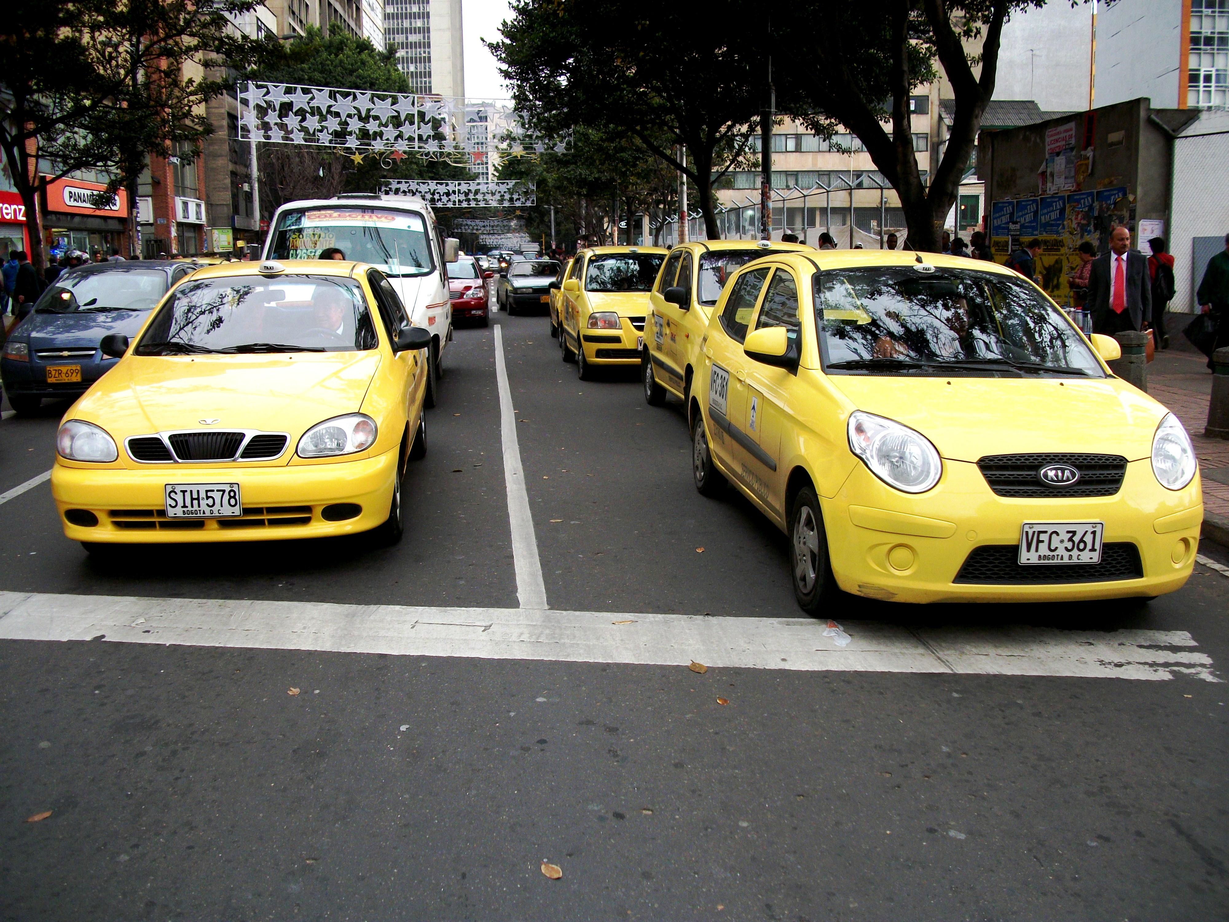 Taxis_en_bogotá