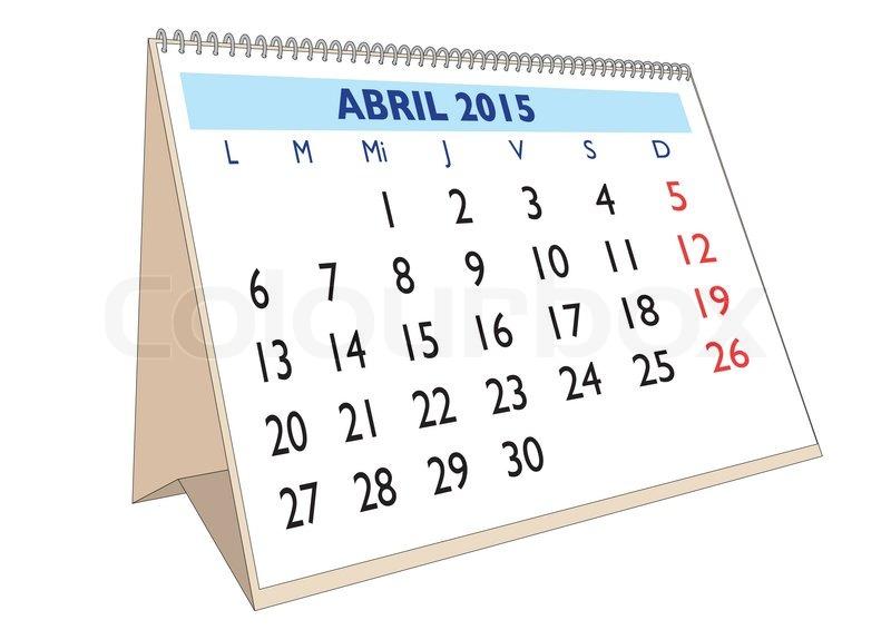 Calendario Tributario DIAN Abril 2015